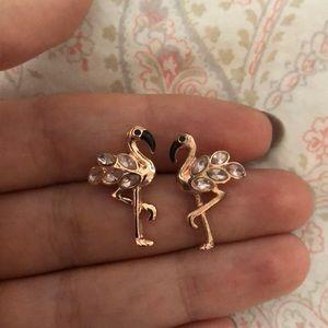 Kate Spade Flamingo Earrings.